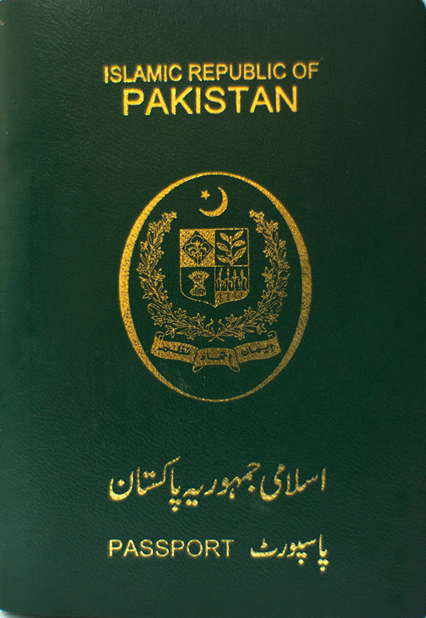 passaporte paquistão