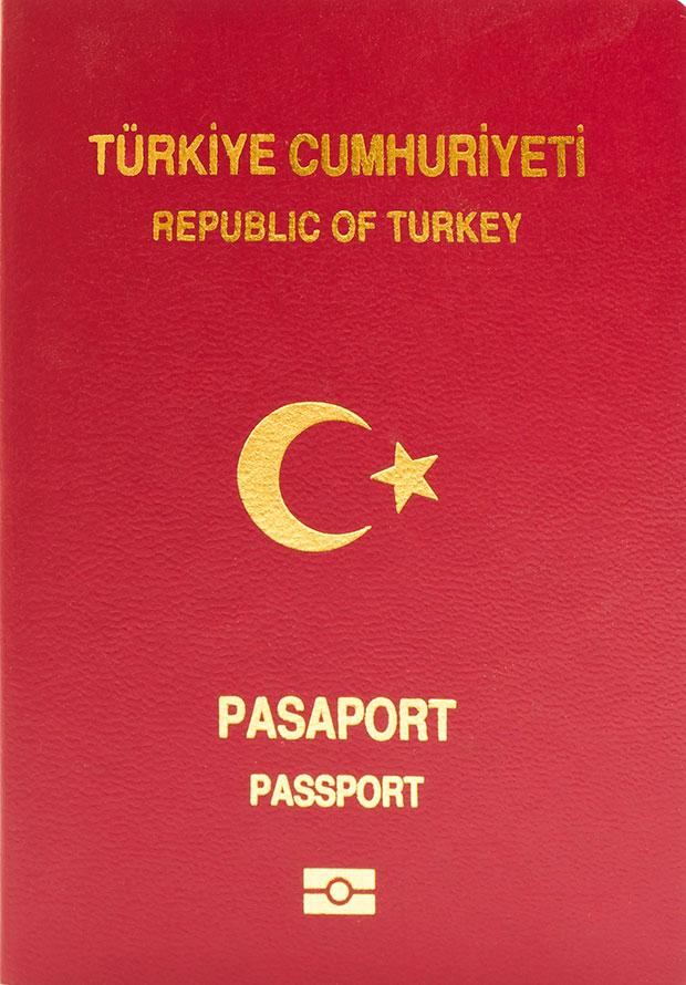 passaporte túrquia