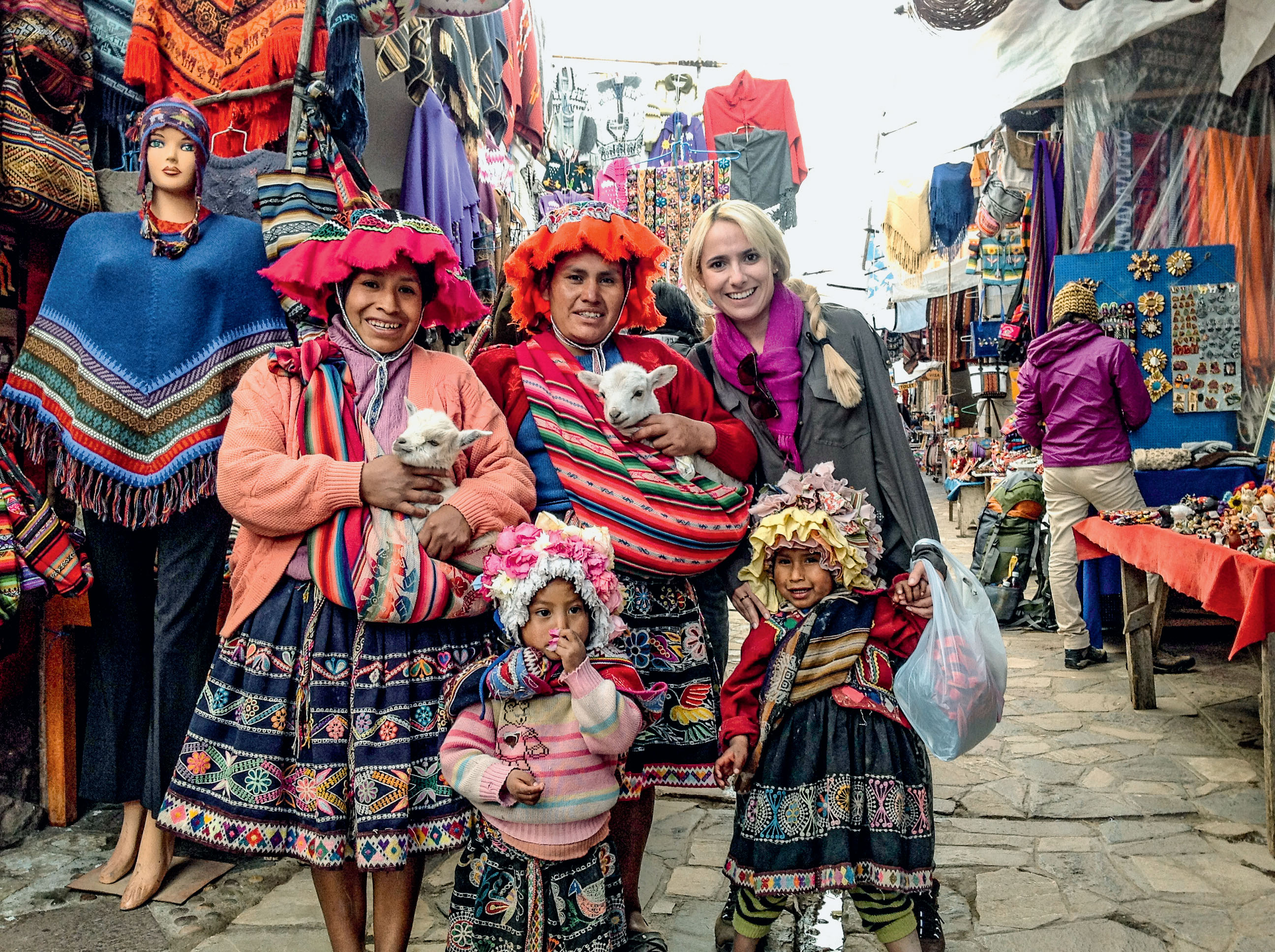SCRAPBOOK: Patrícia Vilas Boas no Peru