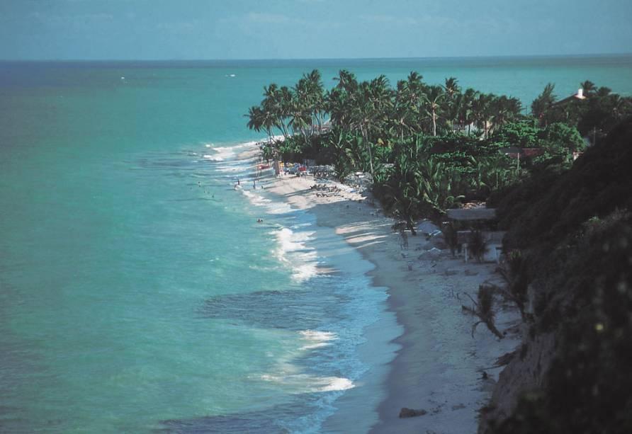A Praia Ponta do Seixas, em João Pessoa (PB), se localiza entre as praias do Cabo Branco e do Seixas