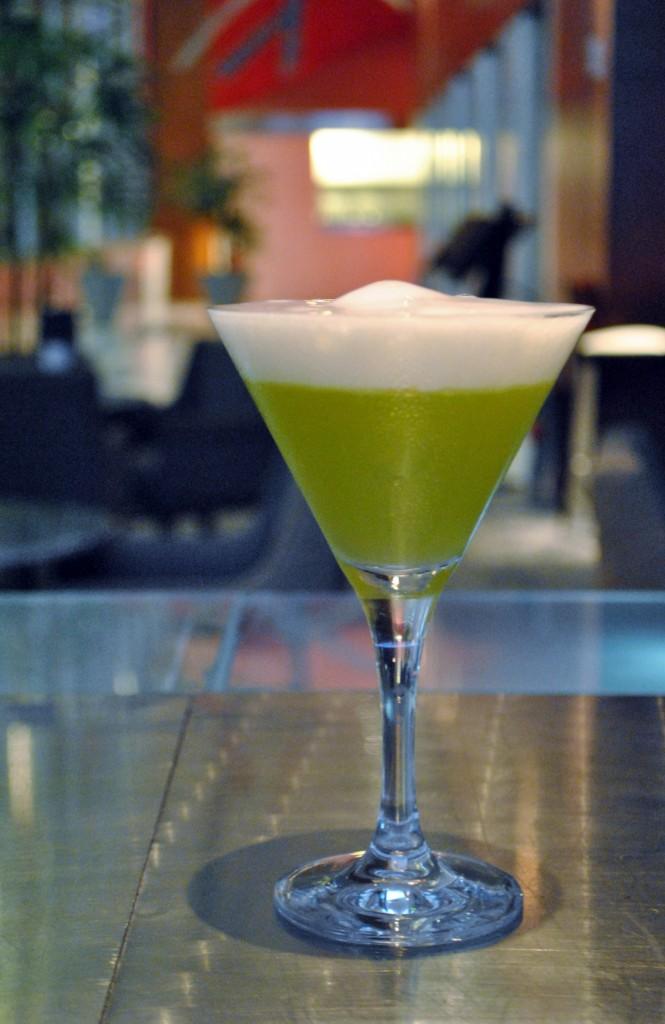 Pecado de São Patrício, drinque do Canvas, no Hilton