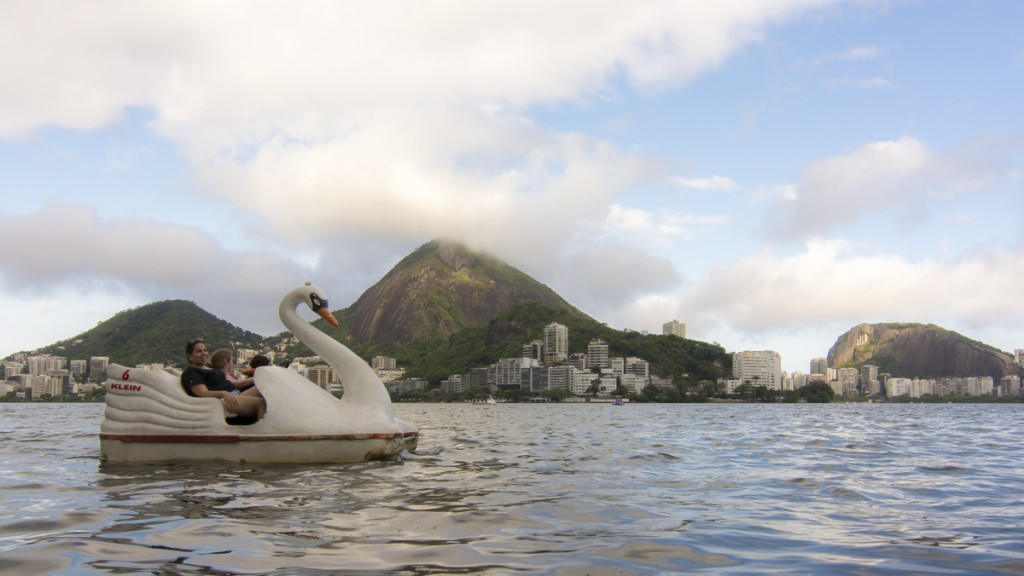 Parquinho, pedalinho e muito espaço para brincar na Lagoa. (Foto: Alexandre Martins Rodrigues/Flickr/Creative Commons)