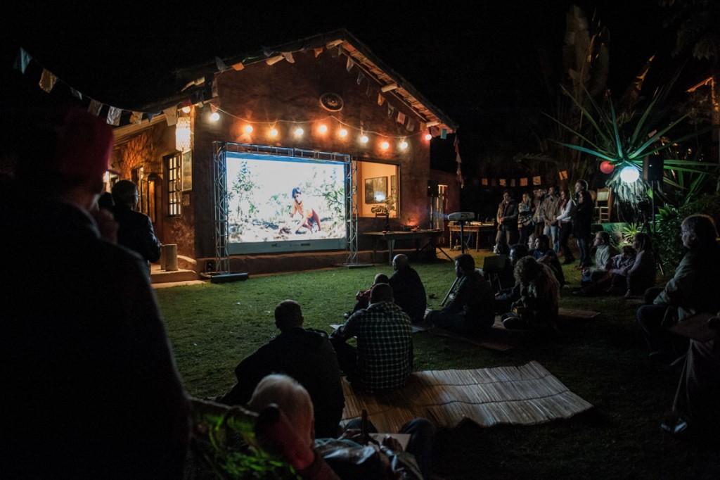 Películas ao ar livre rolam no Festival Arte Serrinha / Divulgação