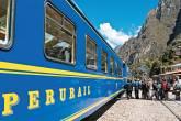 Trem em Machu Picchu, no Peru