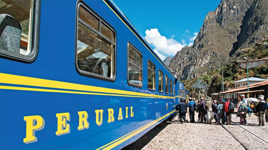 Pouco tempo em Machu Picchu? Vá de trem