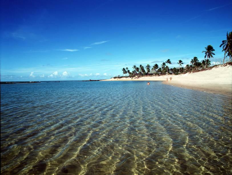 Praia Muro Alto, que abriga os resorts mais luxuosos da cidade