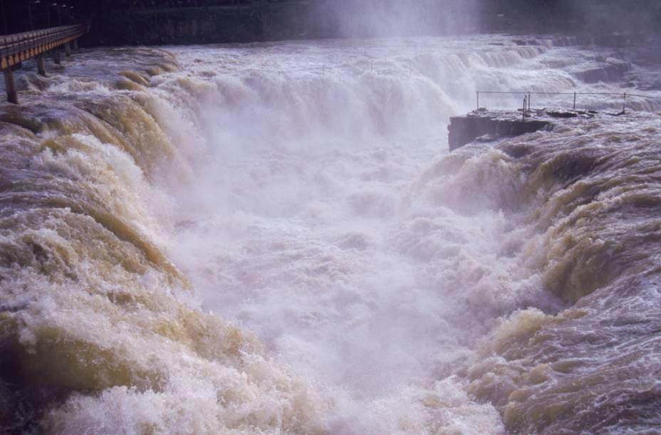 Cachoeira do Urubu, em Esperantina, no Piauí