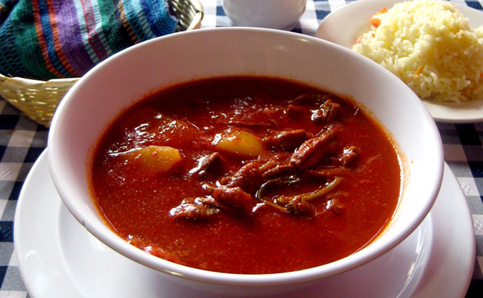 Culinária Maia - Pipián Rojo (Coolorado)