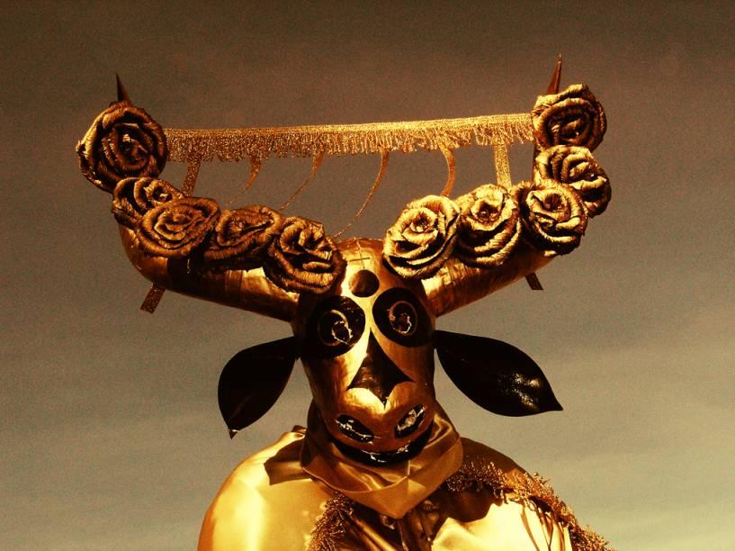 40 dias após o domingo de Páscoa a Festa do Divino Espírito Santo começa em Pirenópolis (GO). Após a coroação do imperador a festa prossegue com fogos de artifício, repique de sinos e procissão de bandeiras. O Destaque ficam com os mascarados, que usam cabeças de boi ou de onça