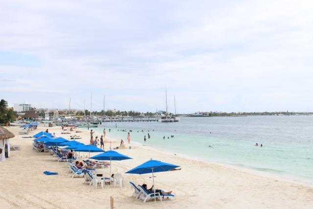 A vida é bela em Isla Mujeres (Playa Norte)