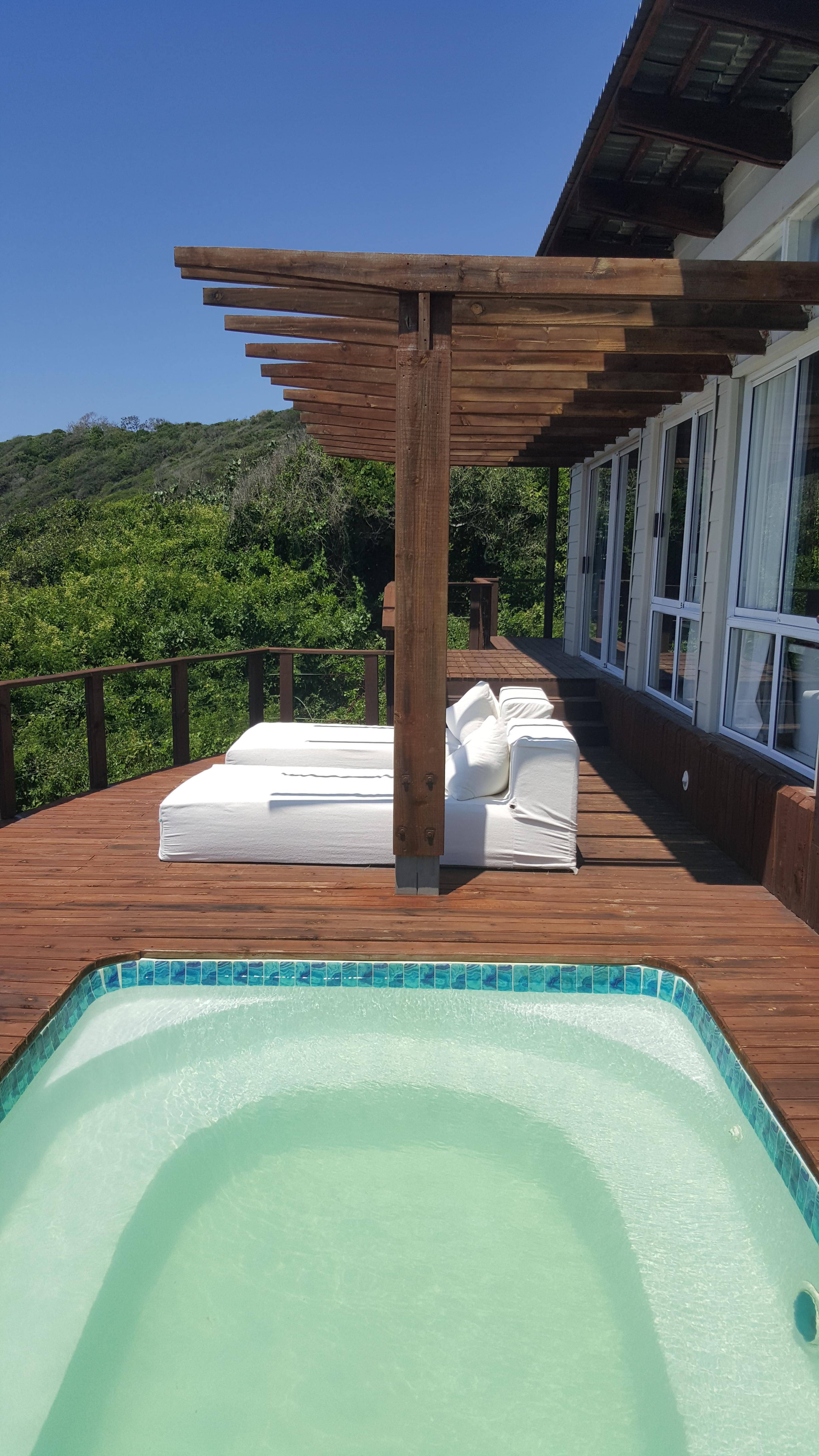 Mordomia-mor: todas as suítes têm uma piscininha, uma dádiva no calor de Moçambique (ainda que a brisa seja constante)