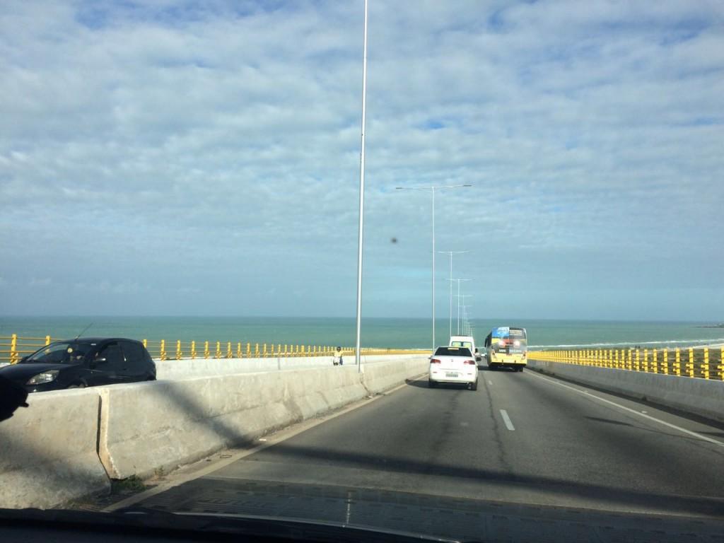 A Ponte Newton Navarro é um dos cartões-postais de Natal (RN) (foto: Ana Claudia Crispim)