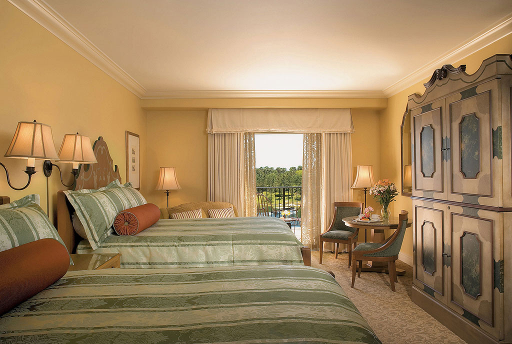 Portofino Bay Hotel, no Universal Resort em Orlando