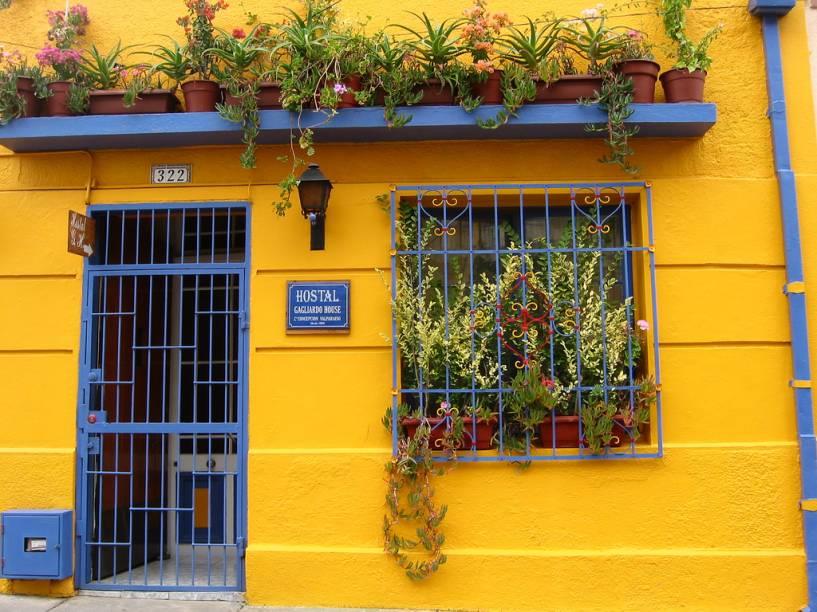 Valparaíso possui um simpático casario operário que lhe valeu o título de Patrimônio da Humanidade da Unesco