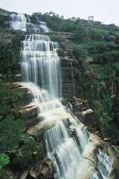 Criado em 1992 para preservar o Cânion do Rio Iapó, o Parque Estadual do Guartelá, em Tibagi (PR), conta com trilhas sinalizadas para os panelões do Sumidouro e para o mirante da cachoeira Ponte de Pedra (1h30). Uma caminhada maior, com guia, leva à Lapa Ponciano para ver pinturas rupestres de cerca de 4 mil anos