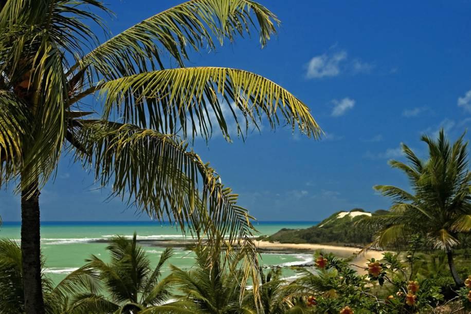 Praia de Baía Formosa, no Rio Grande do Norte