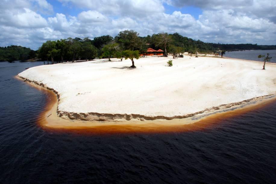 Praia do Tupé, Manaus, Amazonas