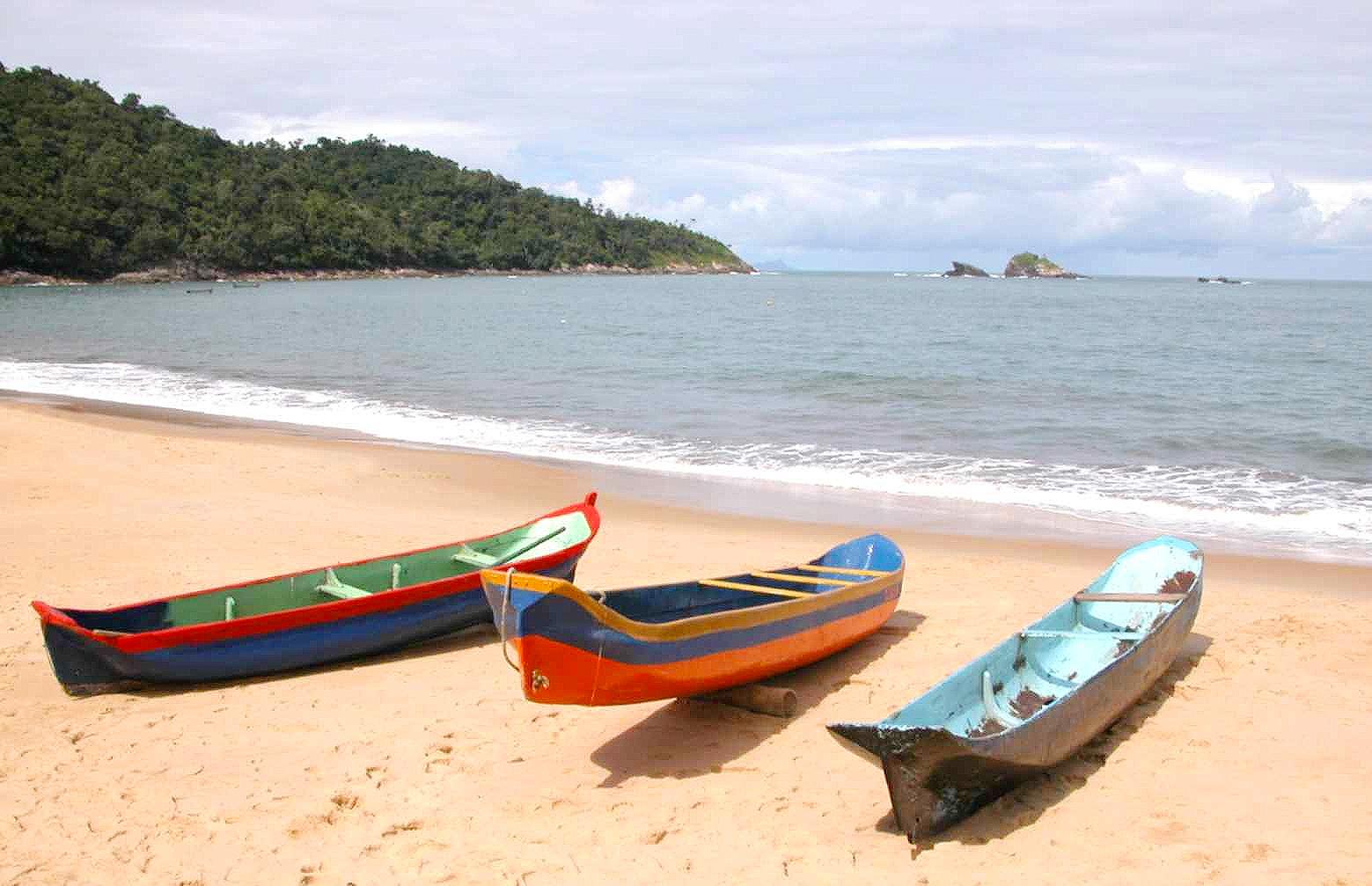 Praia de Toque-Toque Pequeno: um dos cenários mais inspiradores do Litoral Norte Paulista (foto: divulgação/Prefeitura Municipal de São Sebastião)