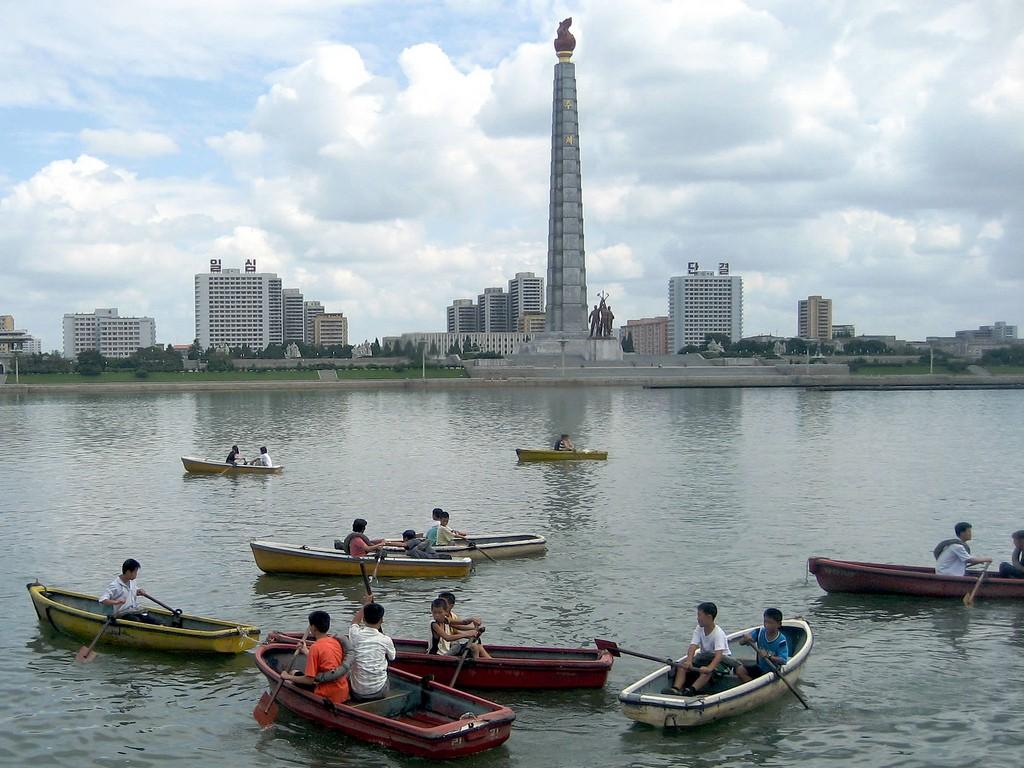 Pyongyang, capital da Coreia do Norte (Foto: David Stanley, no Flickr)