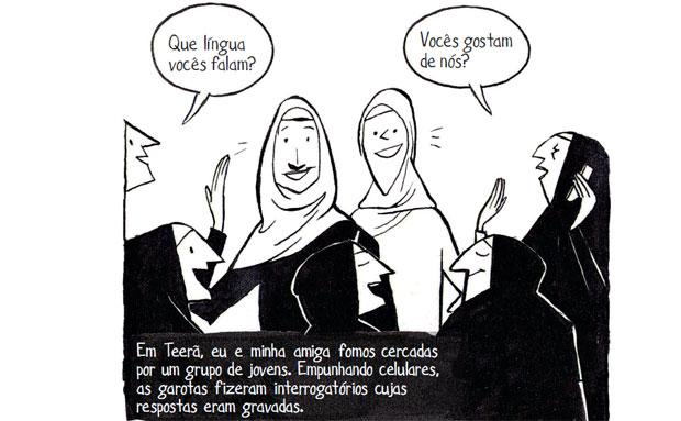Ira no Irã: história em quadrinhos