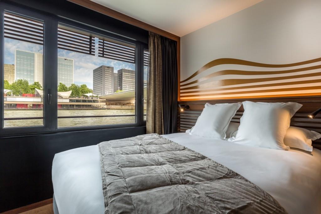 Os quartos também contam com a tão privilegiada vista (foto: divulgação)