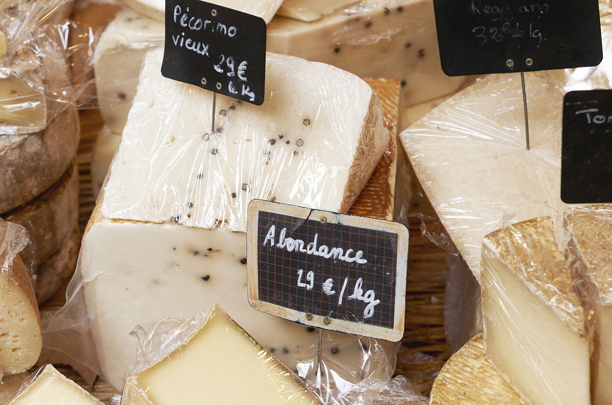 Queijos de Provence, no sul da França