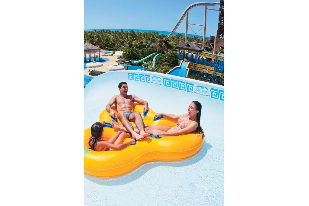 Toboágua do Beach Park Suites Resort, em Aquiraz, Ceará