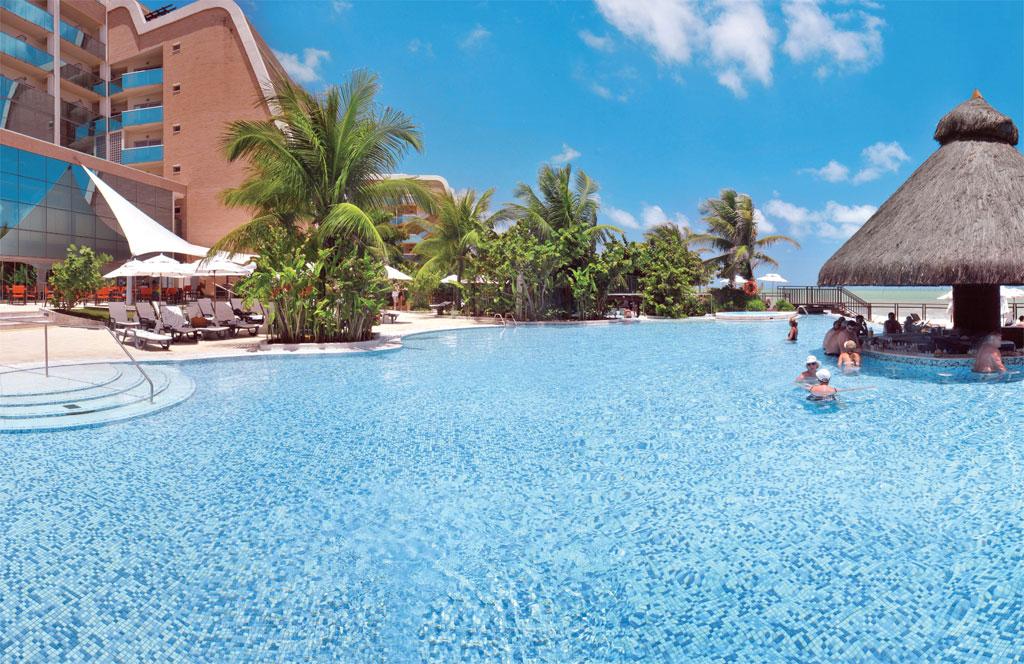 Piscina resort Sehrs Natal Grand, Natal, Rio Grande do Norte