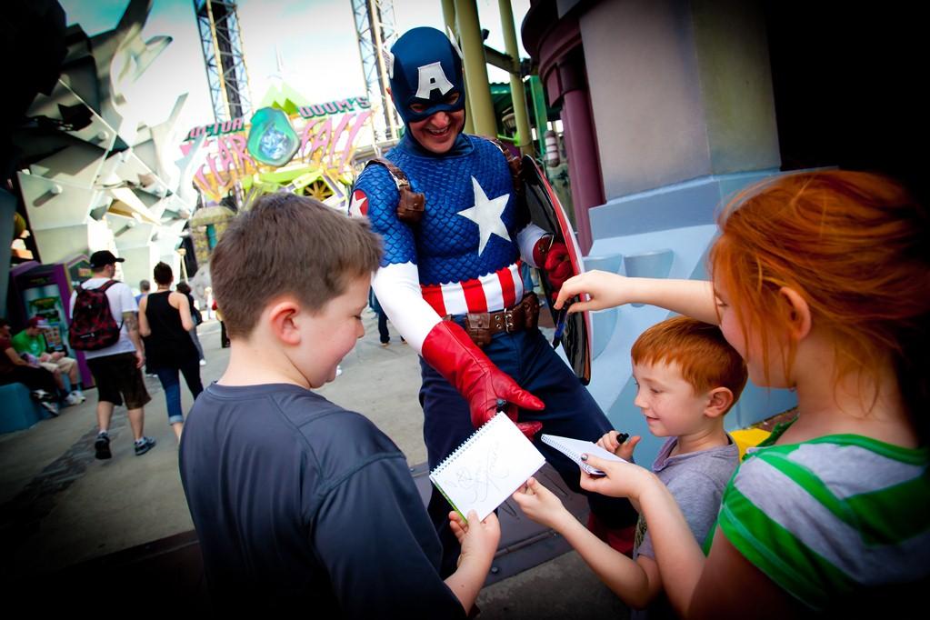 Marvel Super Hero Island, Islands of Adventure, Orlando, Flórida