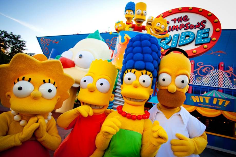 The Simpsons Ride, Universal Studios