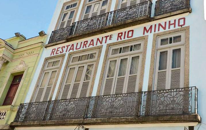Fachada do restaurante Rio Minho (foto: divulgação)