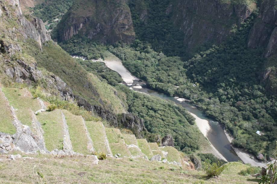 Rio Urubamba na Cidade Sagrada de Machu Picchu
