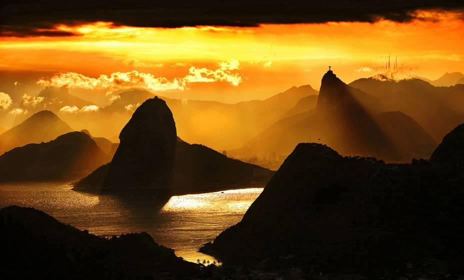 Entardecer no Rio de Janeiro (RJ)