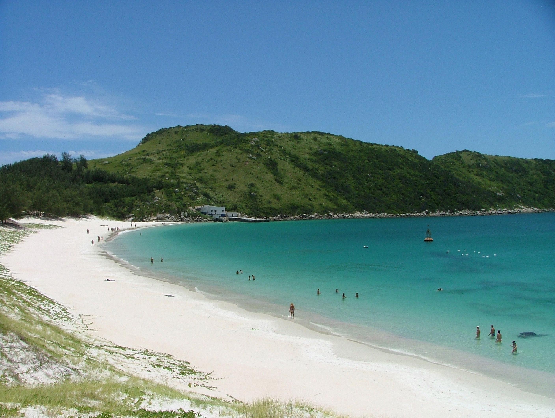 Praia em Arraial do Cabo, Rio de Janeiro