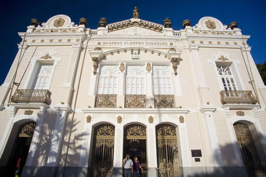 O Theatro Alberto Maranhão, Natal (RN), foi tombado pelo patrimônio histórico do Rio Grande do Norte