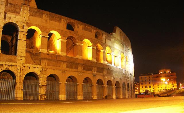 Coliseu, em Roma, é ou não é de chorar? [Foto: Ana Claudia Crispim]