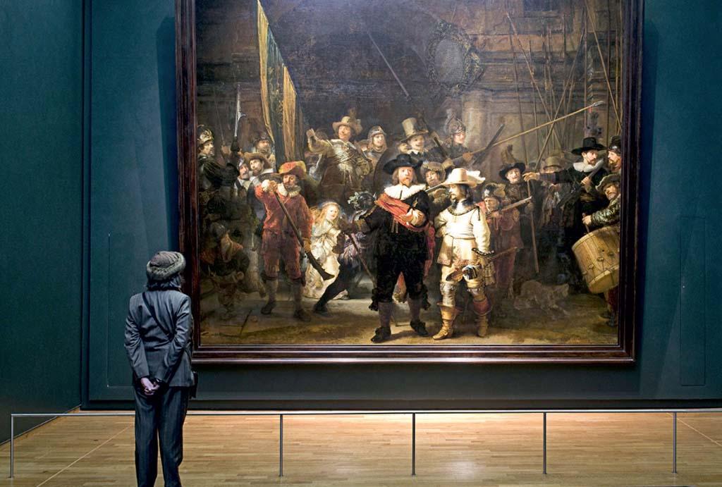A Ronda Noturna, de Rembrandt