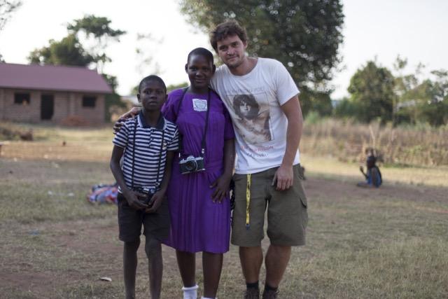 Bruno em ação em Uganda