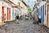 Ruas coloniais de Paraty (RJ)