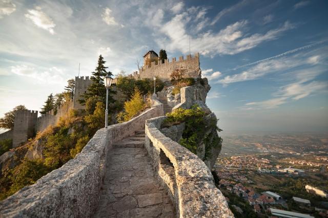 O que é um pontinho no meio da Itália? É a Serenissima Repubblica di San Marino, cazzo! (foto: Thinkstock)