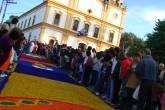 Tapete de Corpus Christi em Santana de Parnaíba, São Paulo