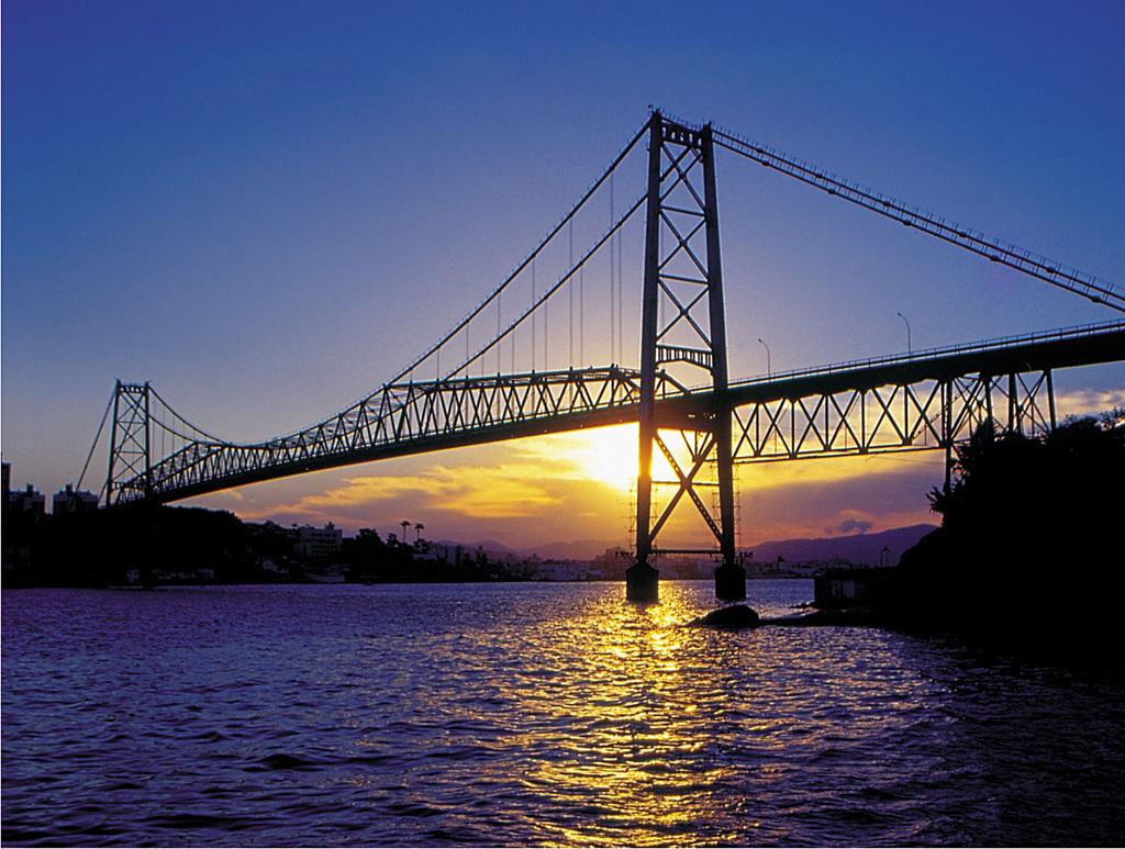 Ponte Hercílio Luz, Florianópolis (SC)