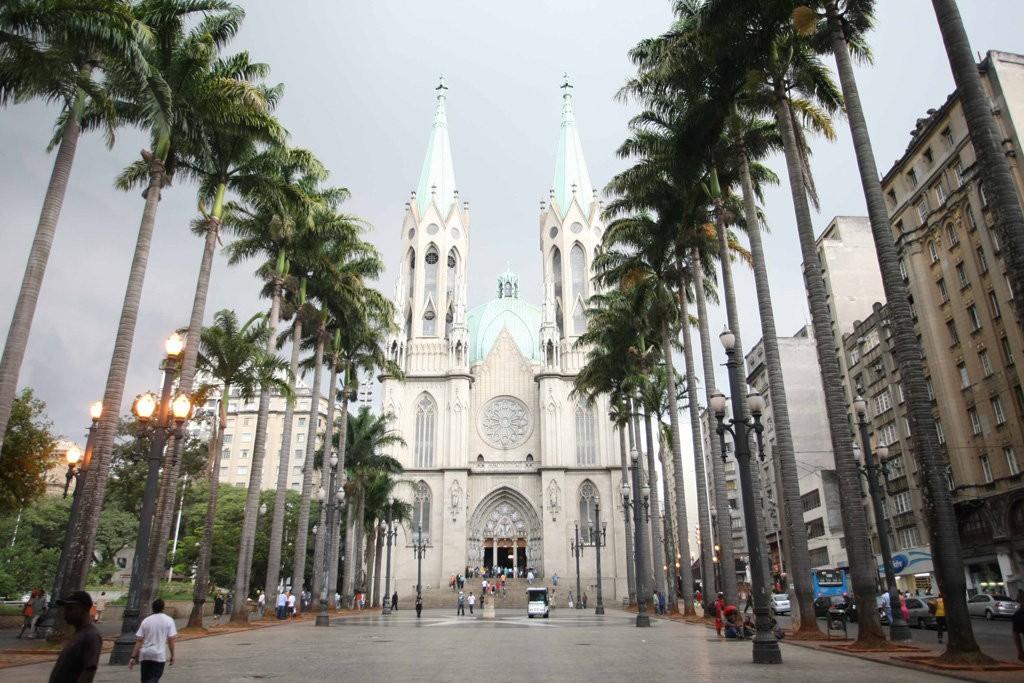 Uma visita à Catedral da Sé faz parte dos roteiros no centro histórico de São Paulo. Foto: Rubens Chiri