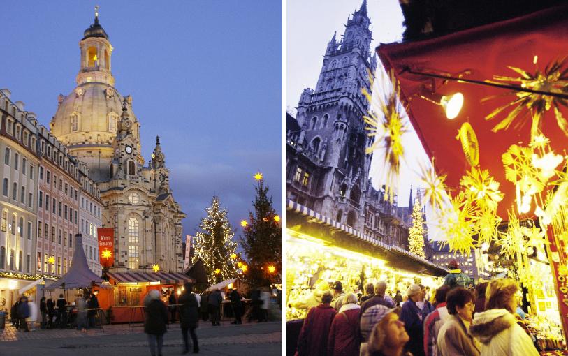 Dresden, um tipo de Florença alemã e enfeites de Natal pra perder a cabeça em Munique [fotos: Bilder_Press Photos e Photo_Heinz_Gebhardt]