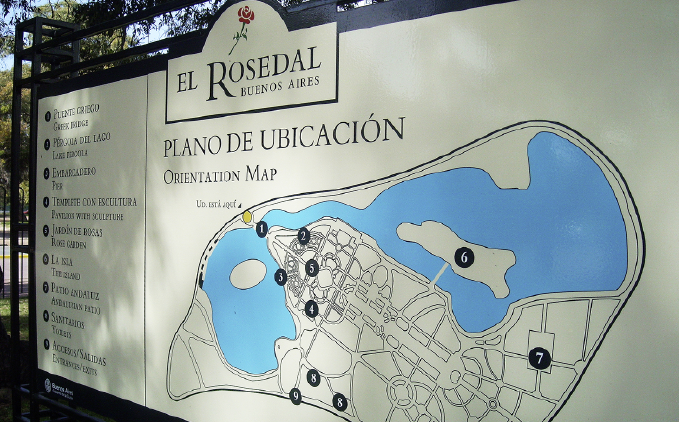 Buenos Aire, Rosedal