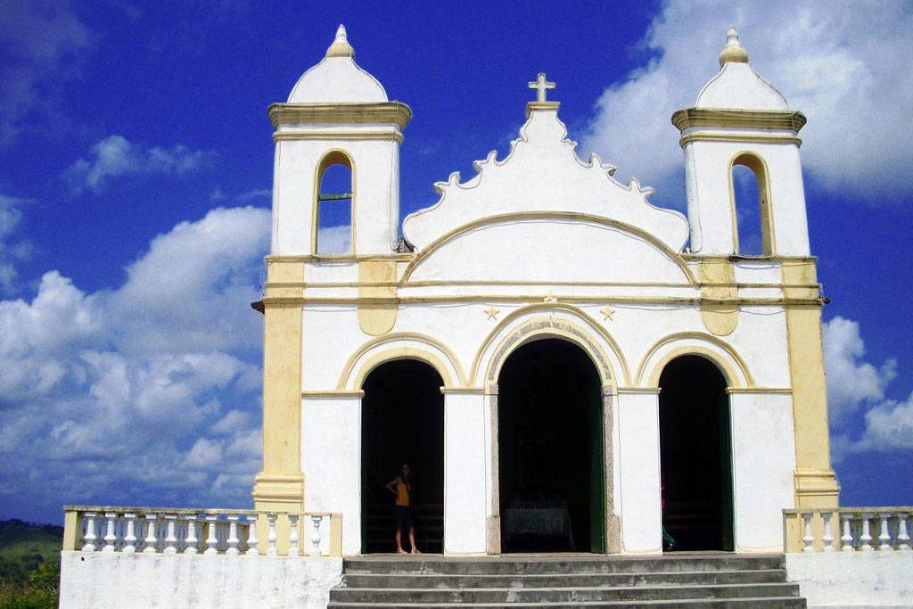 Igreja Bom Jesus dos Navegantes em Laranjeiras, Sergipe