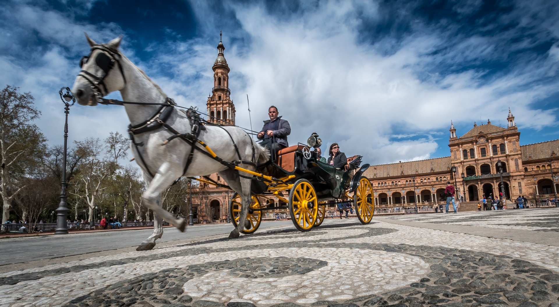 A linda e ensolarada Sevilha: um programaço para o inverno europeu