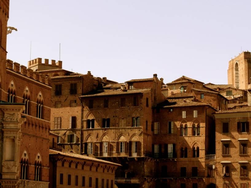 Casario medieval de Siena