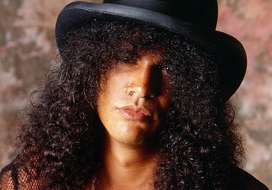 Este é Slash sem um cigarro na boca