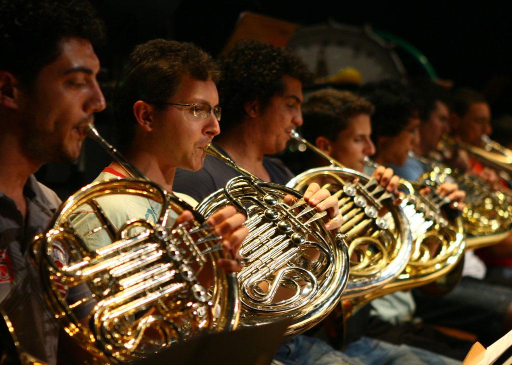 Instrumentos de sopro no Femusc